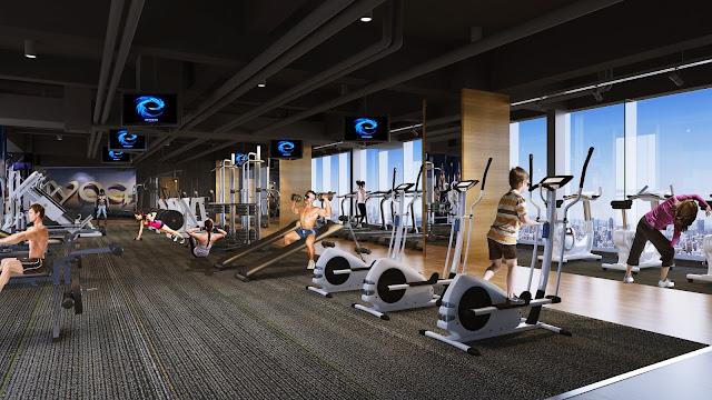 Phòng tập Gym tại Hateco Apollo