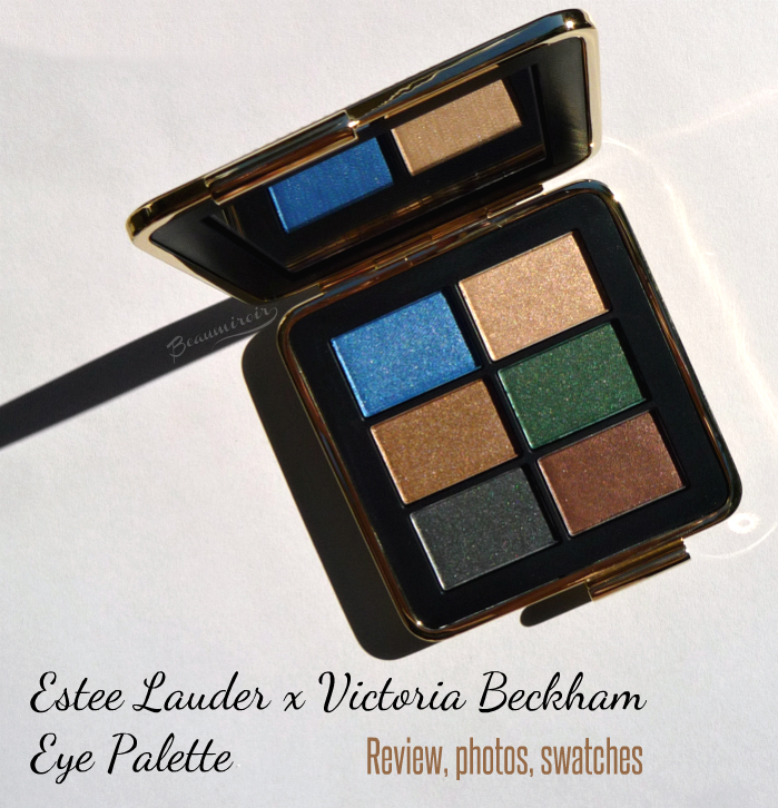 Estee Lauder x Victoria Beckham Eye Palette: review, photos, swatches