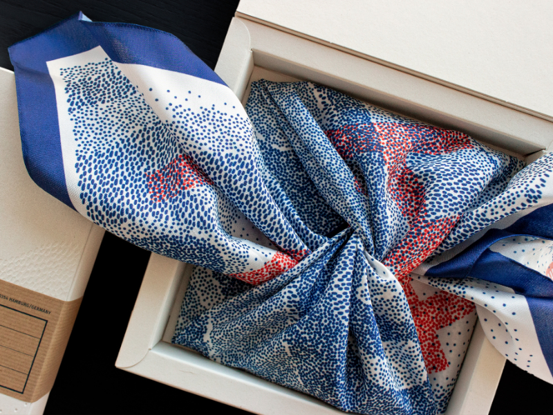 Grace of Waste – the furoshiki that cleans oceans