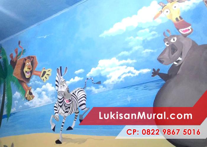Lukisan tembok anak paud yang efektif untuk merangsang for Mural untuk kanak kanak
