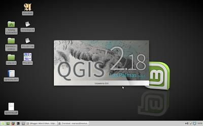 QGIS 2.18.20 & Linux Mint 18 xfce