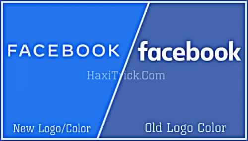 FB New Logo Color Vs Old Facebook Logo Color Difference