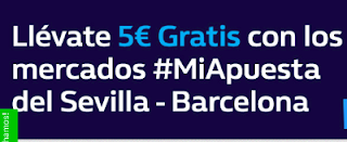 william hill promocion Sevilla vs Barcelona 31 marzo