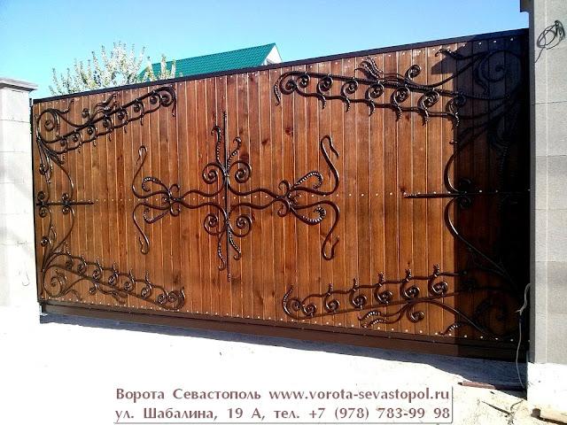 Вороты кованые цены