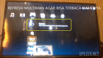 Cara Instal Game PS3 dari Flashdisk/Harddisk ke Multiman Playstation 3
