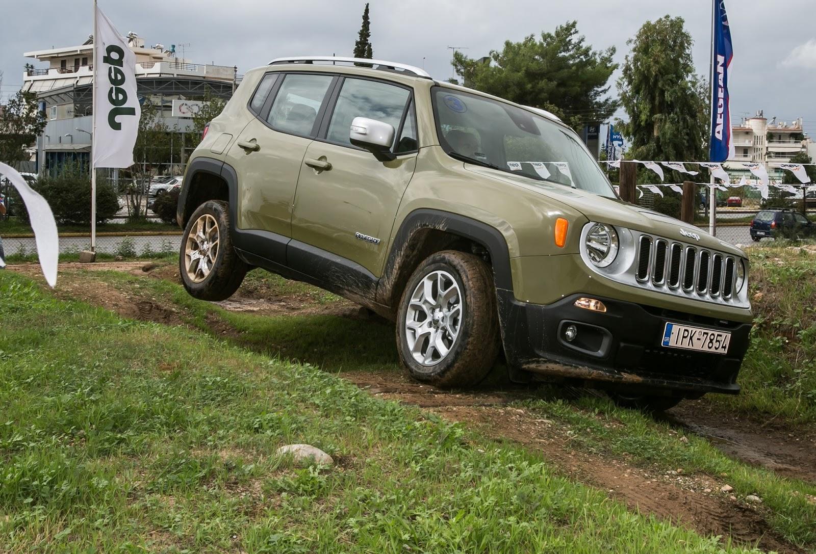 GK 0421 Πετάμε ένα Jeep Renegade σε λάσπες, πέτρες, άμμο, λίμνες. Θα τα καταφέρει; Jeep, Jeep Renegade, Renegade, SUV, TEST, zblog, ΔΟΚΙΜΕΣ