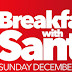 Breakfast with Santa, Sunday December 4th at The Nutty Irishman