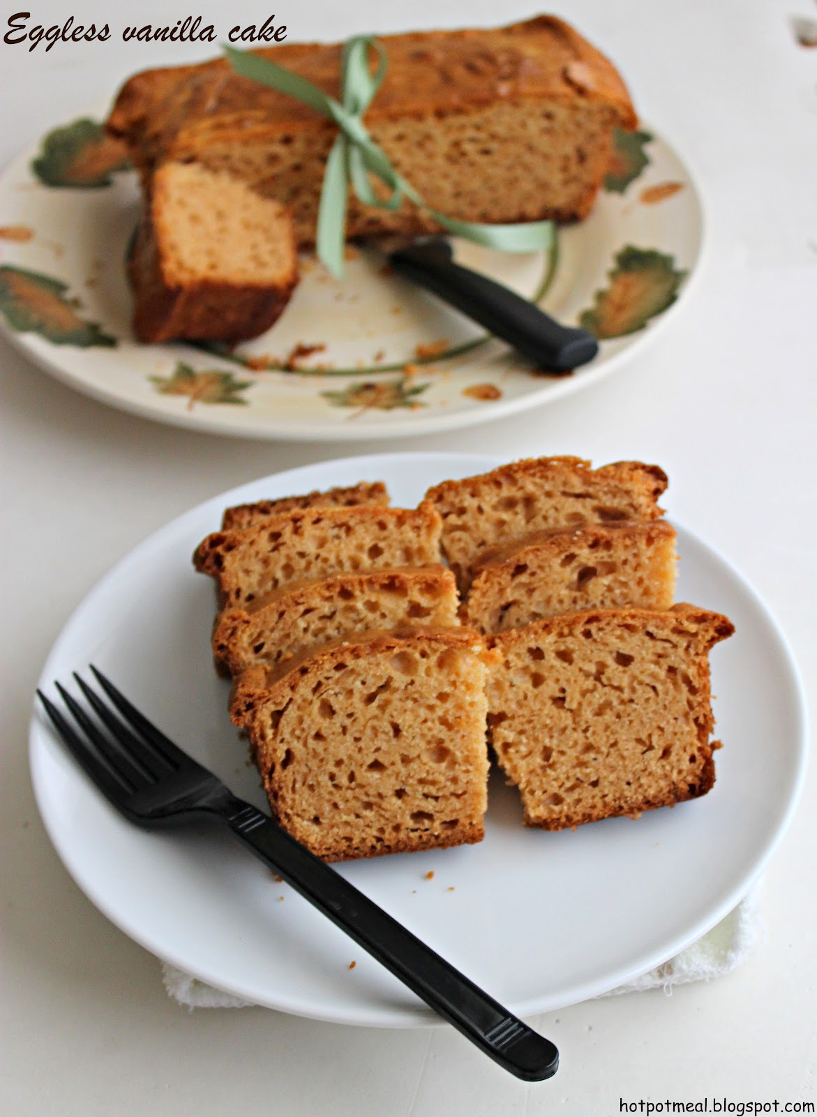 Eggless Butter Cake Evaporated Milk