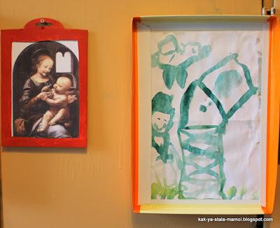 Как сделать рамку из бумаги своими руками, творчество с детьми, как сделать рамку своими руками,