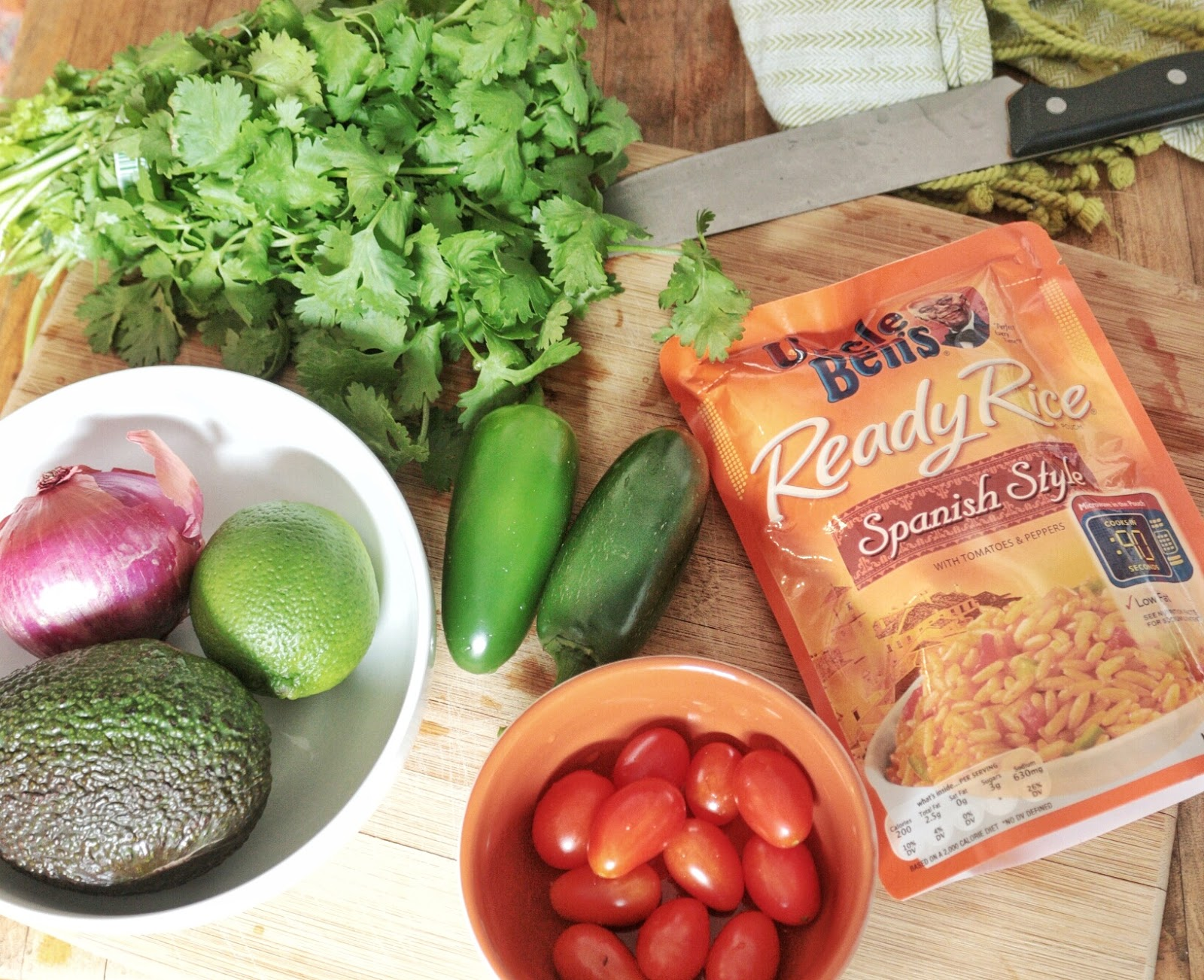 Cooking With Kids:  Make Your Own Burrito Bowl Bar
