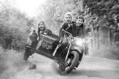 Soviet Sidecar Girls