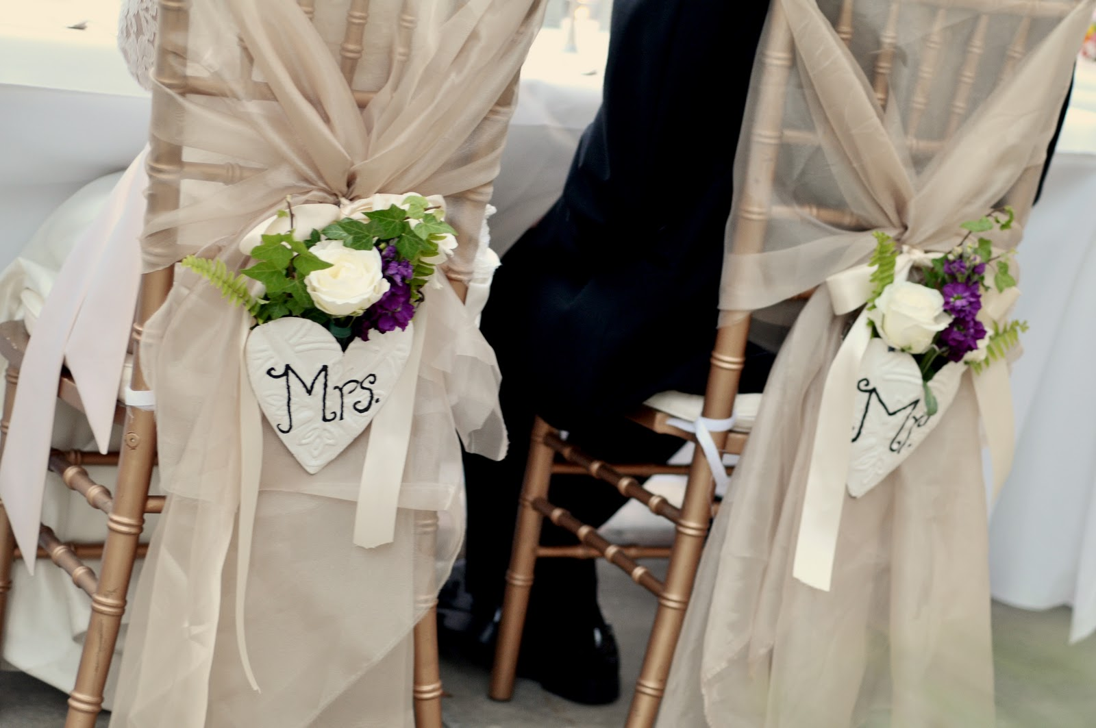 The Jones Victorian Estate Chairs For The Bride And Groom