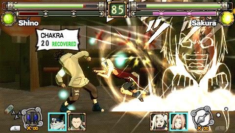 Naruto Ultimate Ninja Heroes Screenshots