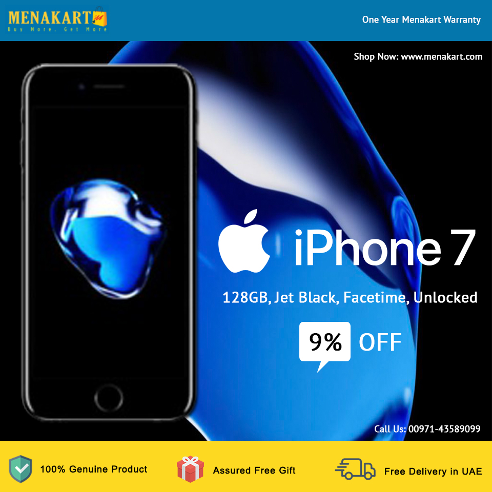 Online Shopping In Dubai Buy Apple Iphone 7 128gb Jet Black Facetime Unlocked