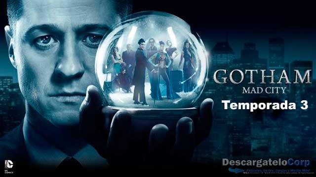 Gotham Temporada 3 Completa HD 720p Latino