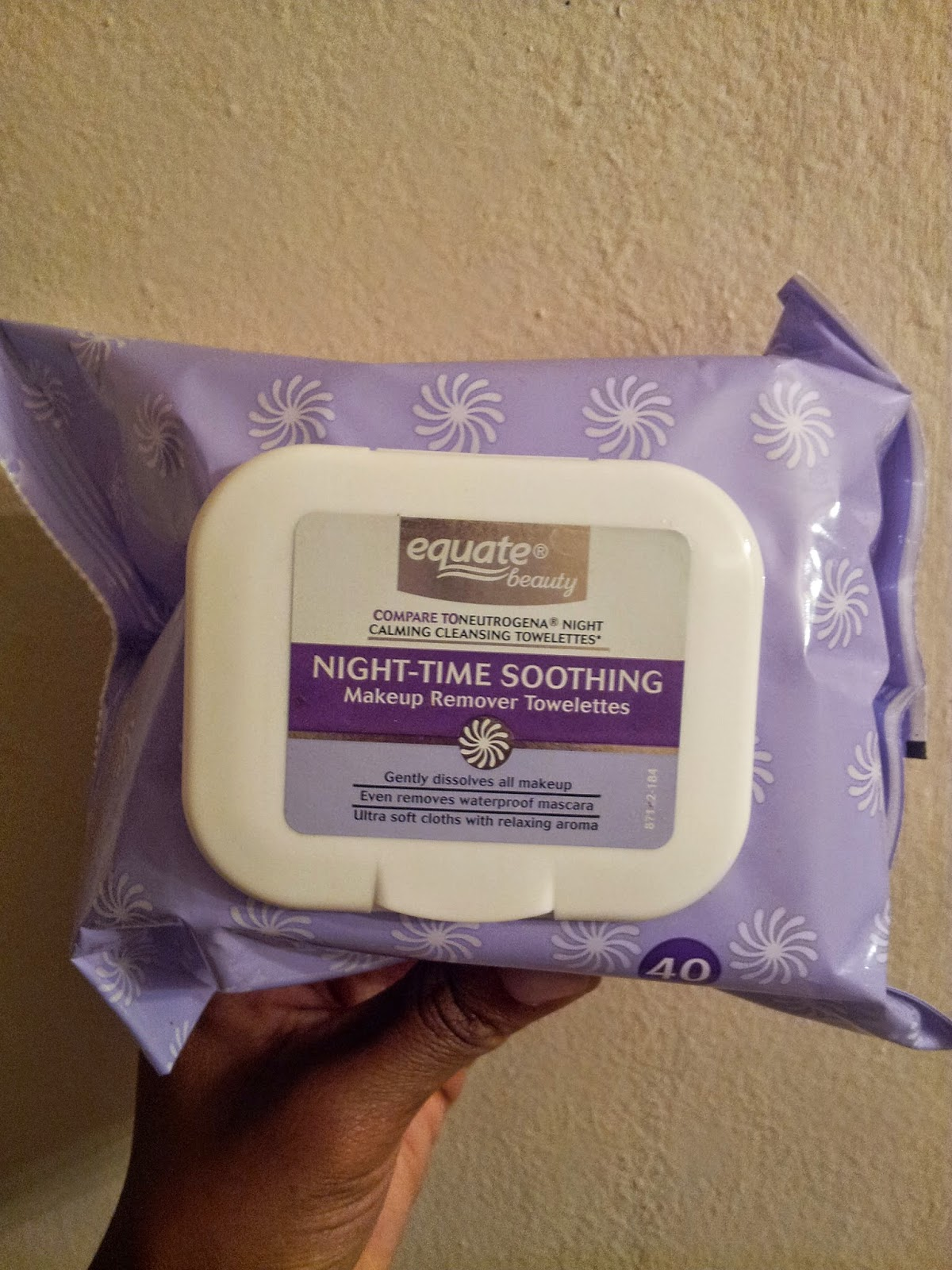 Equate Makeup Remover Wipes Review