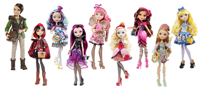 My Plastic Life and World: Ever After High