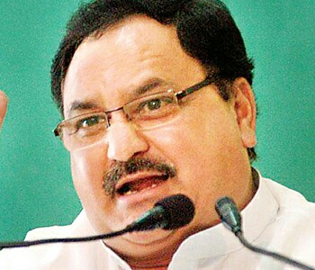 Jp nadda in meeting in hp