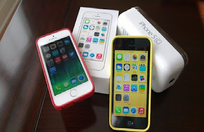 iPhone 5c cu chinh hang