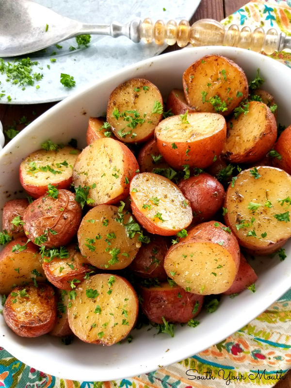 South Your Mouth Slow Cooker Ranch Roasted Potatoes