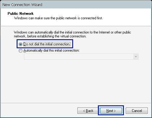 Tutorial membuat koneksi VPN Client di OS Windows XP