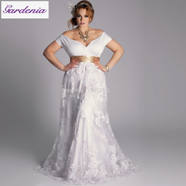 Mature Brides Wedding Gowns: Plus Size For Mature Brides