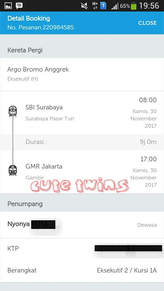 cara memesan tiket kereta api di traveloka