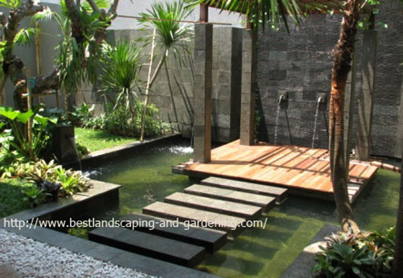 Desain Taman Belakang Rumah Type 36 Destaman