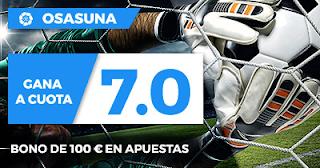 Paston Megacuota Liga 123: Córdoba vs Osasuna 10 noviembre