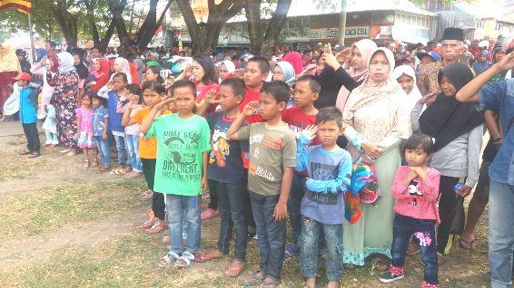 Semangat Kemerdekaan, Di Lapangan Pemuda, Benteng ,Dan, Lebo Kohala
