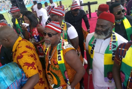 Nollywood Stars Storm Anambra For APGA Rally