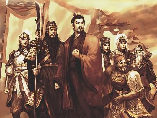Shu characters in 3 kingdoms