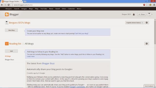 Cara Membuat Blog Sendiri Gratis 3