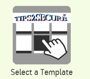 create free android app - select template