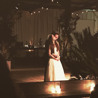 Troian Bellisario and Patrick J Adams get married