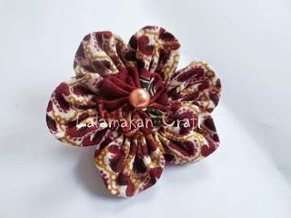 Cara Membuat Bros Batik Sendiri