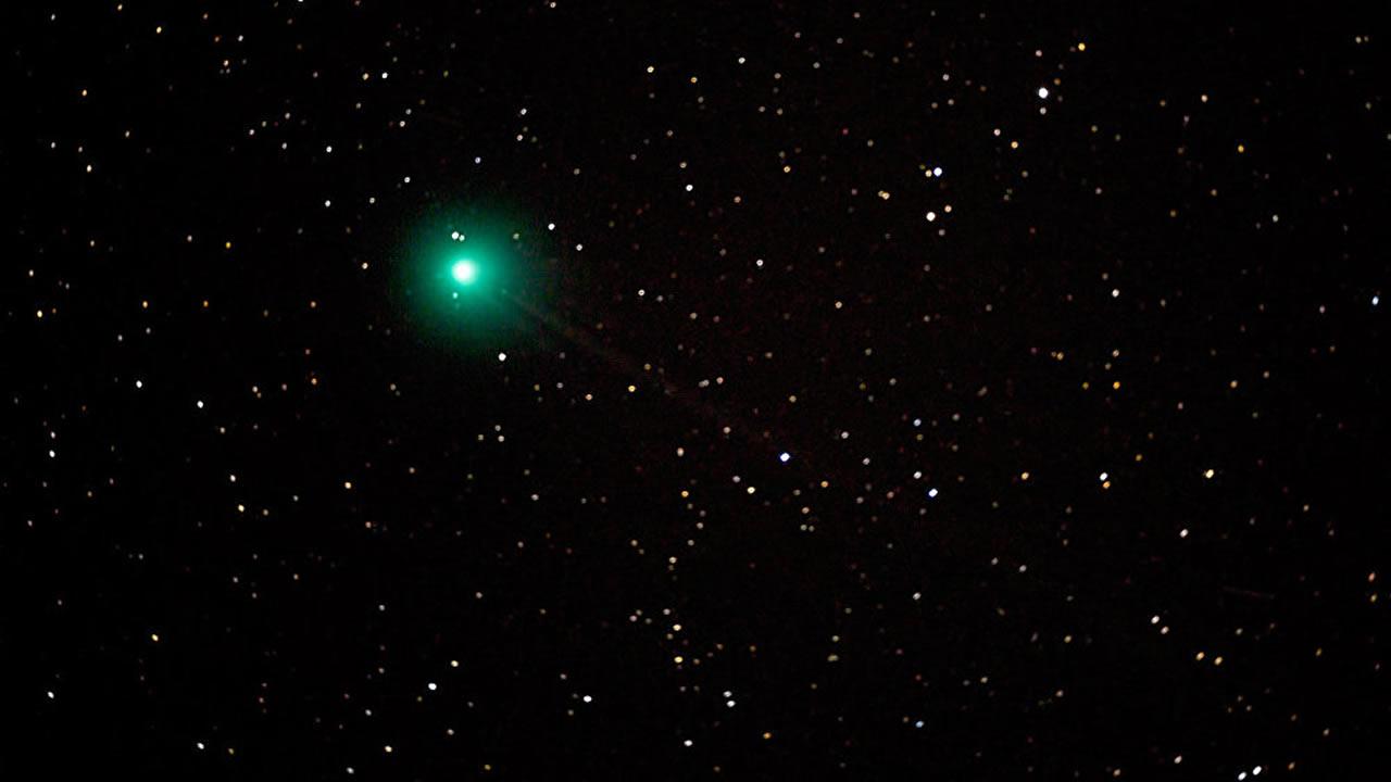 A prepararse: Un cometa de color verde se acerca a nuestro planeta