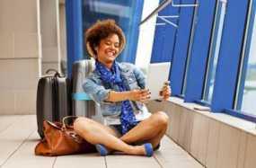 Memainkan Gadget Saat Penerbangan Delay