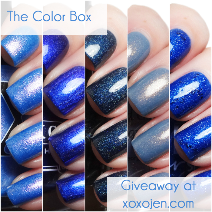 xoxoJen's Color Box collage and giveaway