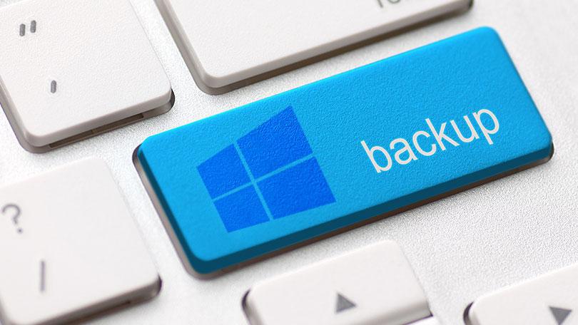 شرح كيفية عمل نسخة إحتياطية من الويندوز بدون برامج و إستعادتها