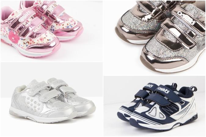 Zapatillas luminosas para bebés - conguitos
