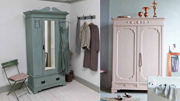 Marzua c mo pintar un armario de madera - Como revestir un armario ...