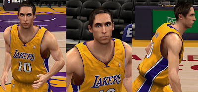 NBA 2K13 Steve Nash Cyberface Patch