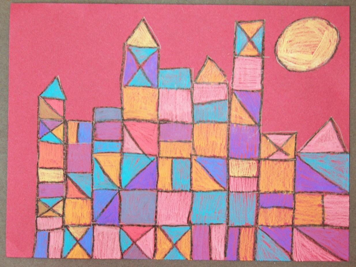 Super Happy Art Class Paul Klee Buildings