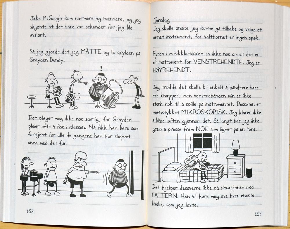 en pingles dagbok engelsk