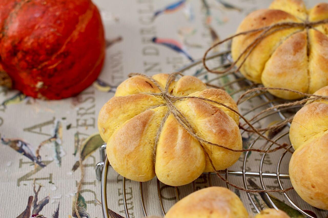 Rezept Kürbis Kartoffel Brötchen
