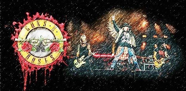 Gambar Posting Top 10 Lagu Guns N'Roses