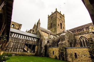 St Davids Cathedral Pembrokeshire Coastal Path Wales