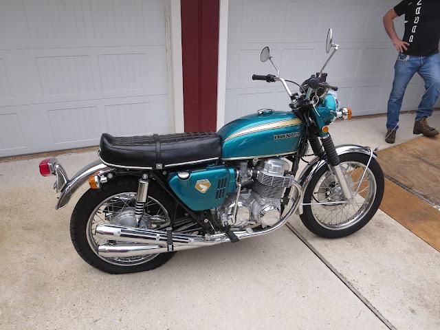 Honda CB 750 Restored by World Motorcycles