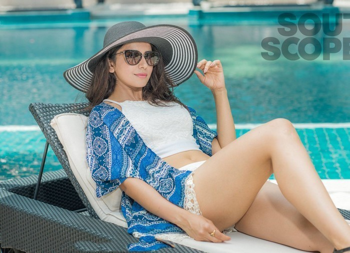 Rakul Preet Singh Hot Thigh Show Photoshoot